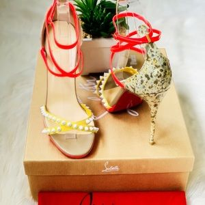 🍾🥂Host Pick🥳Christian Louboutin Spiked Sandals